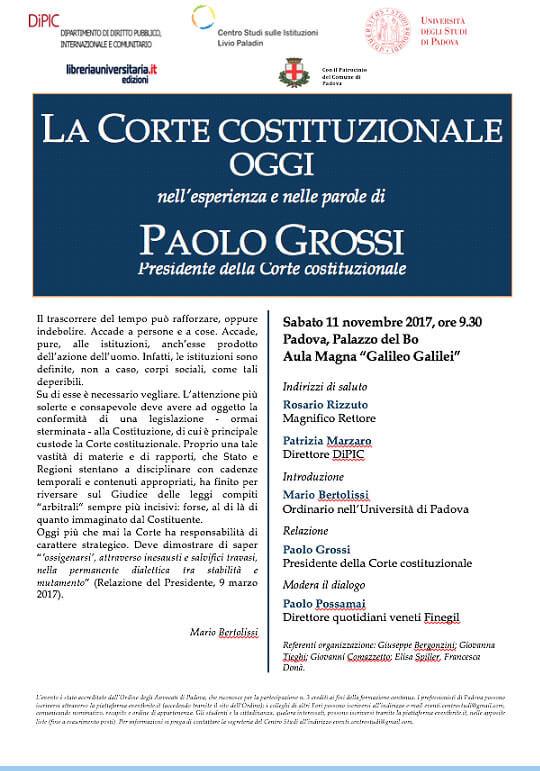 Convegno: La Corte Costituzionale Oggi - Mario Bertolissi - Studio Bertolissi